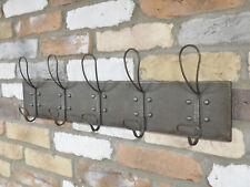 Metal Coat Hook 10 Peg Hat Robe Towel Clothes Storage Wall Door Hanger Rack New