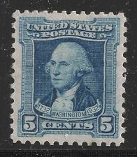 5 Cent Historical Figures United States Stamps