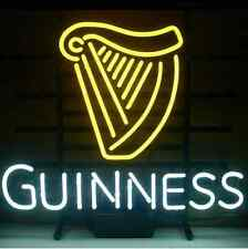 Neon Light Guinness Hand Blown 17 by 14 inches Pub Man Cave