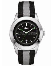 Lacoste Men's 2010613 Advantage Grey Grosgrain Watch 5331