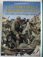 LA GUERRA DELLA FANTERIA 1915-1918-Carso,Oslavia,Altopiano di Asiago,Val d'Astic