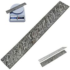 Custom Fire Damascus Steel Billet Bar For Making Knife BB5