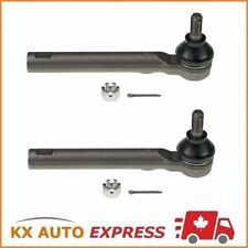 2X FRONT OUTER TIE ROD END FOR CHEVROLET CAVALIER 2000 2001 2002 2003 2004 2005