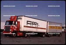 Original slide: Semi-truck McLean Trucking 20004 GMC tandem