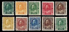 Canada. King George. 1911-1925. Scott 104, 105,...,134, MR1. MH (BI#29)