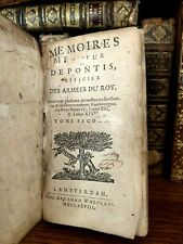 1678 De Pontis Memoirs Officer of the King's Army