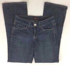 Lee One True Fit Jeans Boot Cut Stonewash Low Rise Cotton Denim Size 8M L31