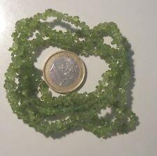 PERIDOTO-Olivina filo da 90cm  pietre  naturali -verde