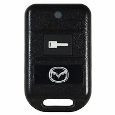 Used Mazda Logo Keyless Fob FCC: GOH-PCMINI Remote Start 1 Button Red LED
