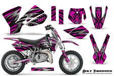 CREATORX GRAPHICS KIT FOR KTM SX50 2002-2008 BOLT THROWER PINK