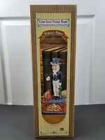 VTG Cast Iron Uncle Sam Penny Coin Bank Collector's Edition - NIB