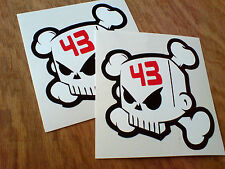 Ken Block 43 Skull Voiture Autocollants Stickers vantoolbox 2 off être