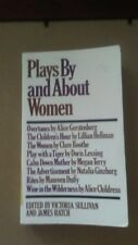 Plays By and About Women: An Anthology by James Vernon Hatch; Victoria Sullivan