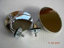 MGB MGTC MGTD MGTF TRIUMPH TR3 TR4 TR6 ALFA JAG FIAT MIDGET LUCAS STYLE MIRRORS