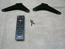 Sanyo FW40D48F Stands with screws and remote, new!!