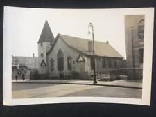 1936 Old Church Brooklyn New York City Old NYC Photo RF Postcard Size U130