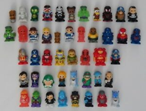 NEW ~ SERIES 3 + 4 ~ DC COMICS + MARVEL OOSHIES ~ SELECT YOUR OOSHIE