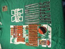 New listing 1993 Tee Shirt XL. Manhattan Jaspers NCAA East Tournament Green