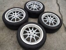 JDM 16'' Blitz Racing FR Wheels Rims For Toyota MR2 SW20 FC3S RX7 S13 S14 FC Z32