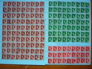180 x Edward VIII definitive GB stamps