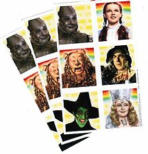 3 Sheets WIZARD of OZ Scrapbook Stickers Dorothy Tin Man Wicked Witch Glinda