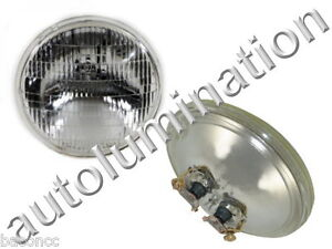 New 4411-1 Clear 12 Volt Par36 Sealed Beam Bulb Headlight Tractor 4-1/2 4411