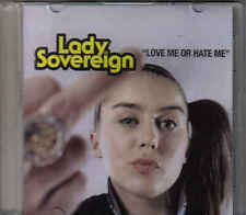 Lady Sovereign-Love Me Or Hate Me promo cd single