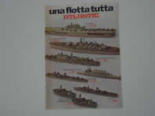 advertising Pubblicità 1976 ATLANTIC FLOTTA NAVALE