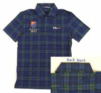 $125 Ralph Lauren RLX Golf The Old Course Pro Fit Polo Tartan Plaid Shirt S M