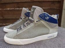 Adidas Vintage Trefoil Retro Mid-CEN AF4248 UK5.5 Hi Top Entrenador de bola de cesta