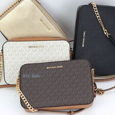 14158b432b16 Michael Kors Jet Set East West Crossbody Saffiano Leather