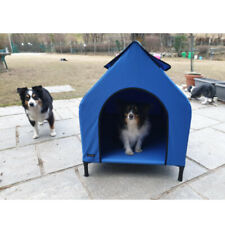 Elevated Dog Bed Houses For Small Pet Dogs Waterproof Hammock Tent With Canopy