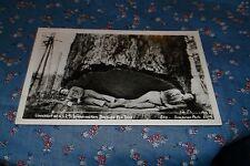 RPPC Postcard 2 Men Lying in Undercut of 12 ft Washington Douglas Fir Tree