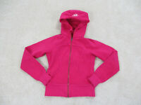 Lululemon Scuba Jacket Womens Size 2 Pink Full Zip Pockets Thick Ladies