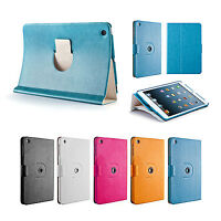 360° Drehbar Case iPad mini 1 2 3 Schutz Hülle Cover Etui Ständer Tasche Blau