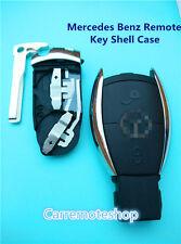 Mercedes benz 2 button Benz Smart Remote Key Case to suit C,E,S Class CL SLk CLK
