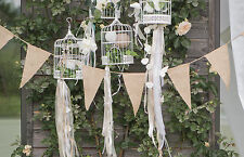 3mtr Jute Bunting, natural hessian rustic country vintage Wedding Fete