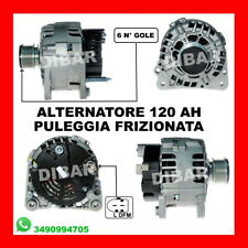 ALTERNATORE 120AH VW PASSAT VARIANT 1.9 TDI SYNCRO/MOTION KW81 CV110 AFN AVG