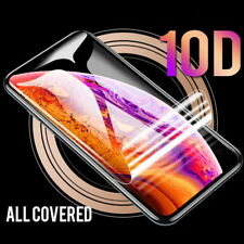 For iPhone 12 mini 12 Pro Max XS XR X 8 7 Hydrogel Soft Screen Protector Covers
