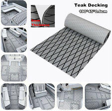 190cm X 45cm Non-Skid EVA Foam Faux Teak Sheets Car Boat Yacht Floor Decking Mat