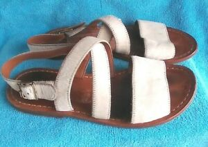 🍃🍃 MARNI  ALL LEATHER SANDALS  //  SIZE 38.5  🍃🍃