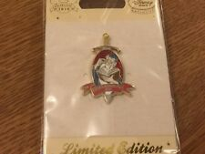DISNEY STORE UK CAST MEMBER EXPEDITION KNOWLEDGE PIN 2010 MERLIN EXCALIBUR LE150