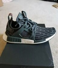 10 New Women's Adidas NMD XR1 Primeknit shoes olive green run training casual