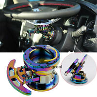 Steering Wheel Colourful Racing Quick Release Hub Kit Adapter Body Removable Kit