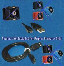 USB 3FT 5Pin Micro Cable Cord 1A 3A FITS Camera Cop Cam Mini Cam HD Cam Ring Cam