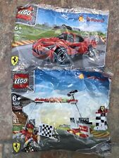 Job Lot – Lego Shell V Power 40194 & 40191 Finish Line Podium & F12 Berlinetta