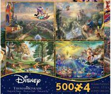 Ceaco Thomas Kinkade Disney Dreams 4 in 1 Multi Pack Puzzle (3667-01)