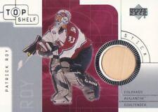 2001-02 UD Top Shelf Hockey STICK #S-PR Patrick Roy Colorado Avalanche