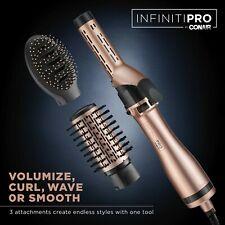 InfinitiPro by Conair Hot Air Brush Multi-Styler, Curling Iron-Hot Air Brush NEW