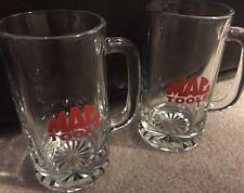 2 MAC TOOLS PROMO BEER MUGS/BEER STEINS/GLASSES HEAVY DUTY